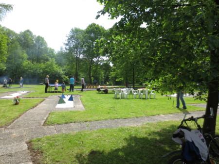 Minigolf-gruenenplan